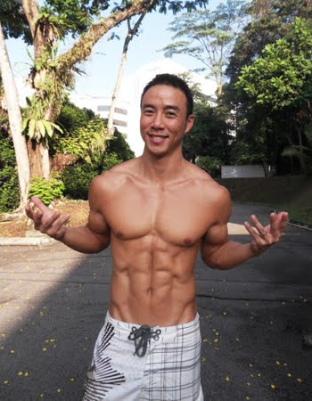 Asian Hunk Singaporean Hunk Allan Wu