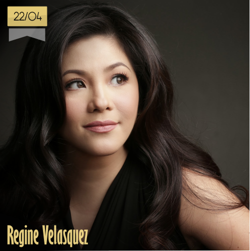 22 de abril | Regine Velasquez - @reginevfans | Info + vídeos