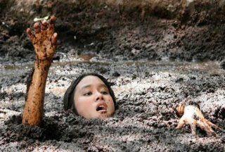 movies and Deep mud quicksand