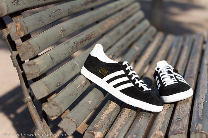 Adidas Original Gazelle blogger