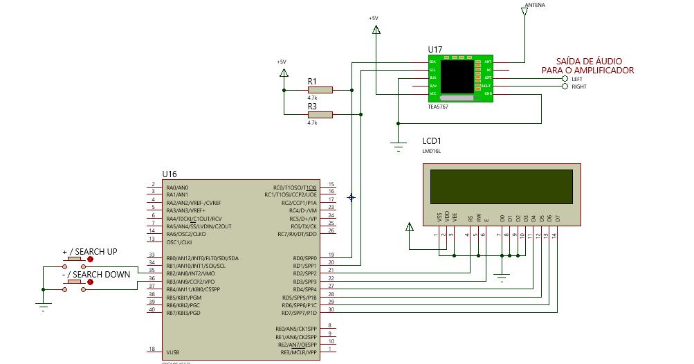 1171090 32287622299 additionally Tiny Fm Radio further 181864936941 likewise Tea5767 Pic16f628 Dijital Pll Kontrollu Fm Radyo Alici Sistemi besides Index. on tea5767 fm radio module