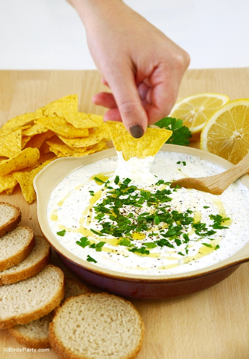 Creamy Whipped Feta Dip Recipe - Blog.BirdsParty.com