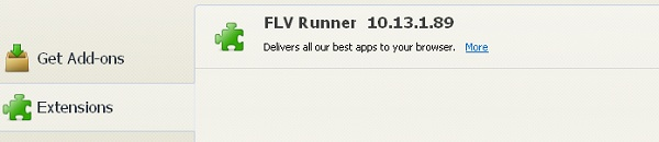 Eliminar FLV Runner Toolbar
