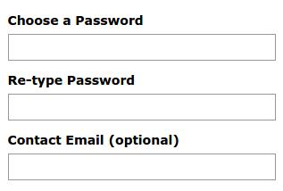 Criar conta no mail.com