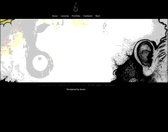 Lucuma - Website design using drawings and illustration