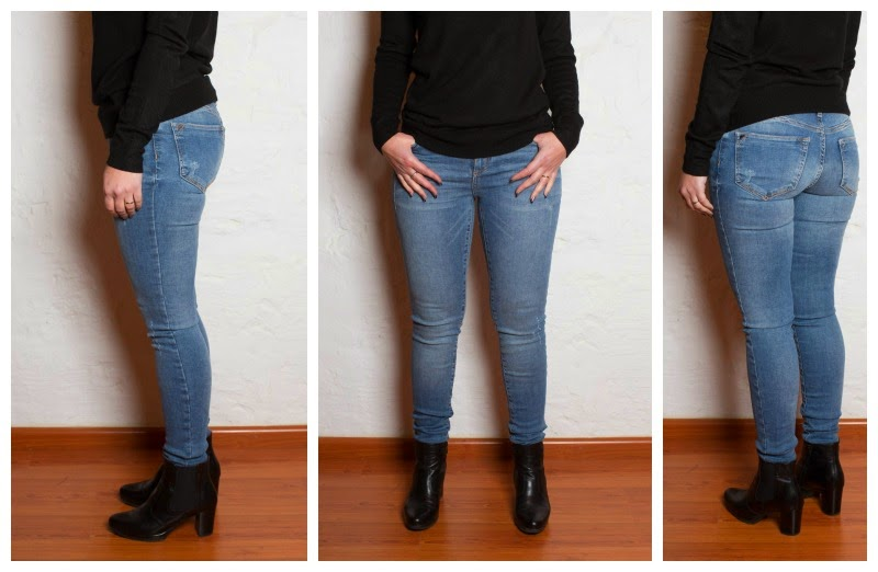 How to make jeans super skinny