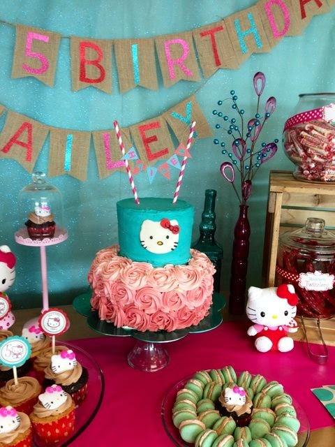 Ideas para Fiestas de Cumpleaños de Hello Kitty