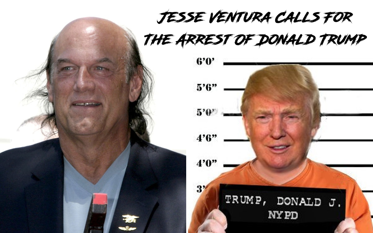 Jesse Ventura just called Trump a traitor and turncoat!
