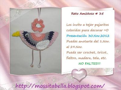 RETO AMISTOSO 35!!  CUMPLIDO