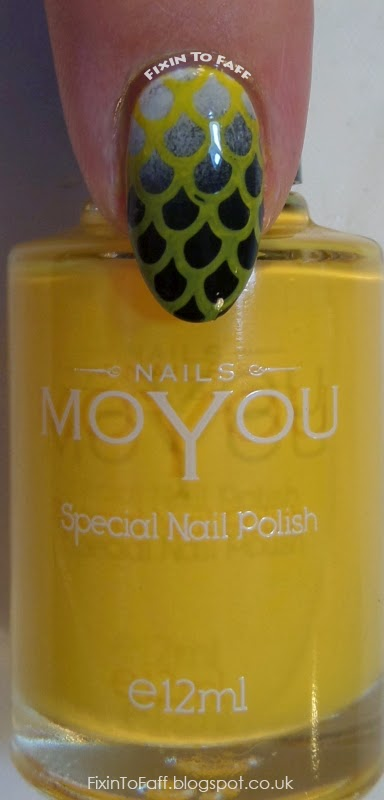 MoYou Nails Special Nail Polish swatch Yellow