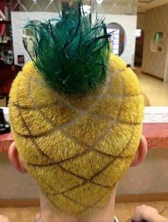 Gaya Rambut Unik dan Aneh Serta Lucu