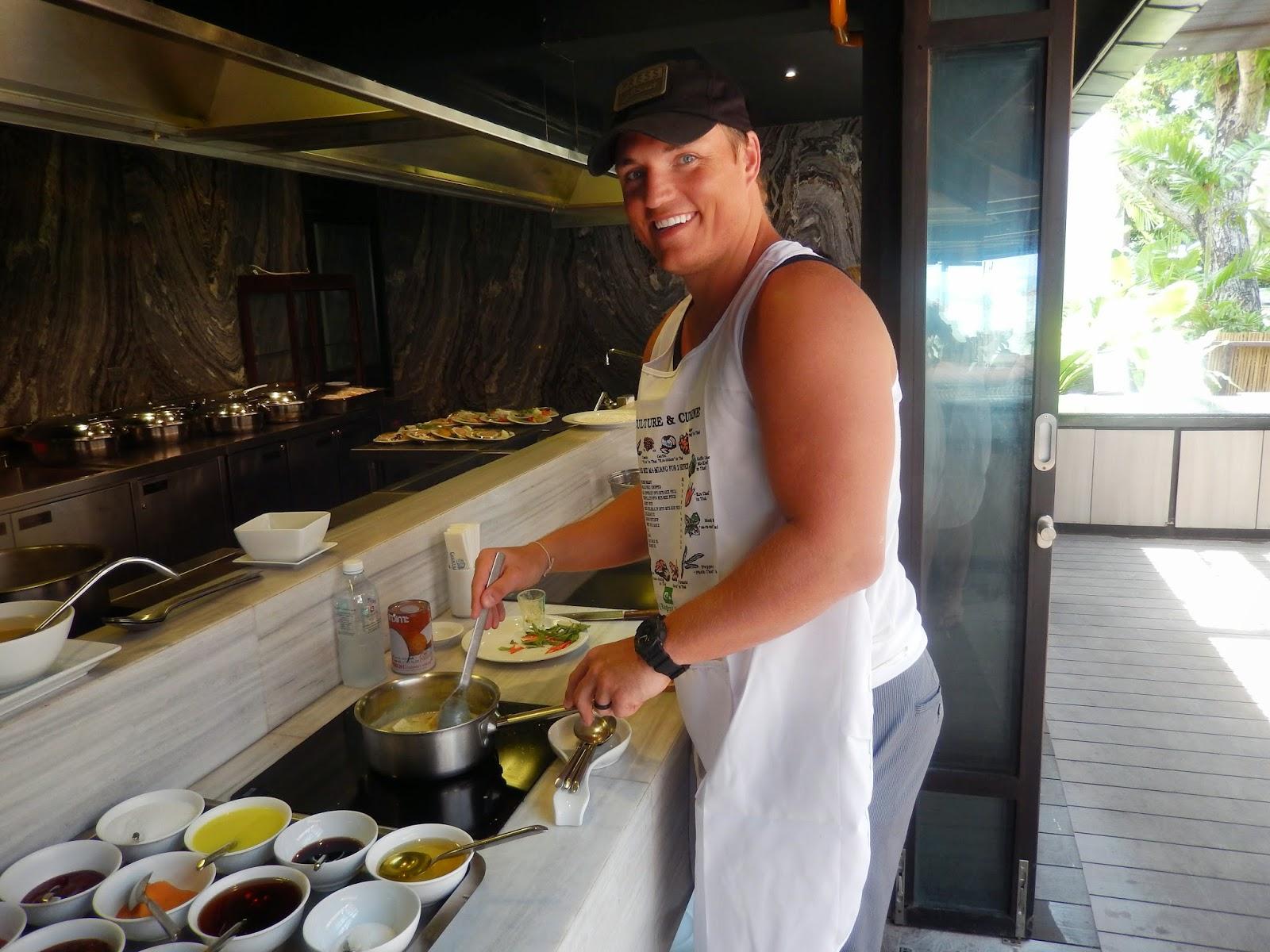 Thai Cooking class chaweng regent