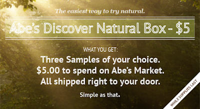 abe's discover natural box