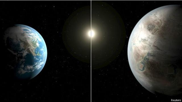ناسا تعلن عن اكتشاف كوكب شبيه بالارض