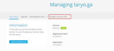 7 Langkah Mudah Merubah Domain Blogspot.Com kamu dengan Domain Gratis Maupun (Pribadi) Berbayar