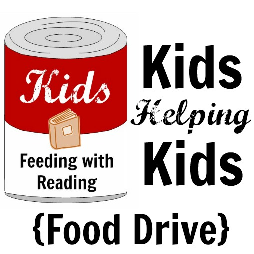 kids help kids by reading to collect food