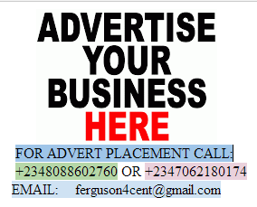 CALL US FOR ADVERT PLACEMENT