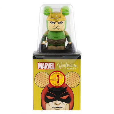 Marvel Vinylmation Series 3 by Disney - Loki Combo Topper