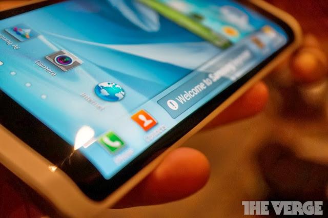 Samsung wraparound display prototype