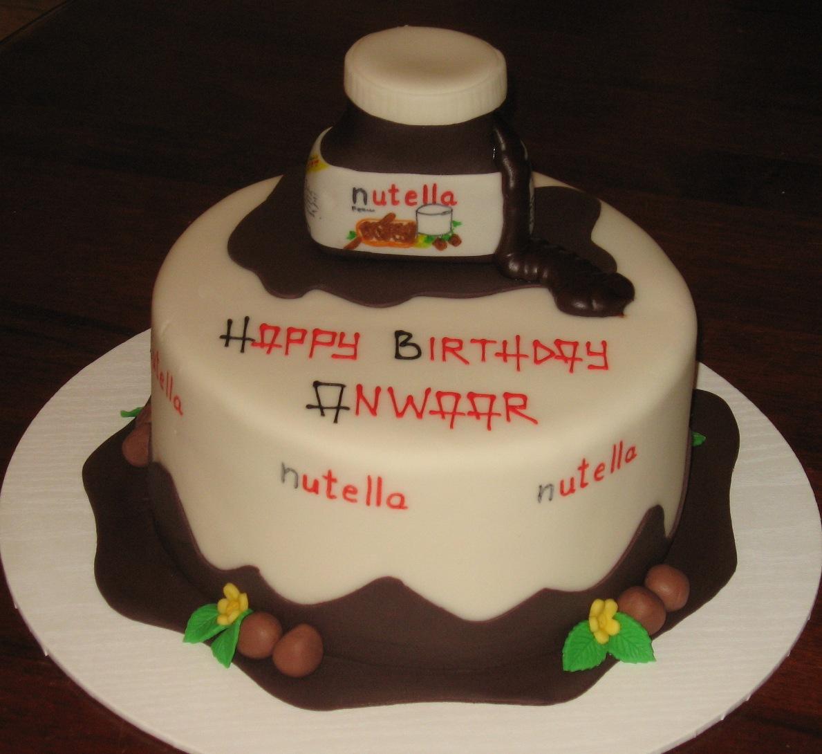 Let Them Eat Cake: Nutella Cake