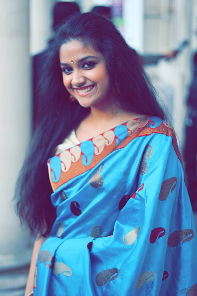 Keerthy Suresh  actress Menaka s daughter is the heroineto Mohanlal in    Menaka Suresh