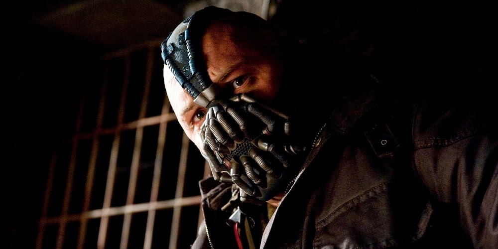 Tom Hardy em BATMAN - O CAVALEIRO DAS TREVAS RESSURGE (The Dark Knight Rises)