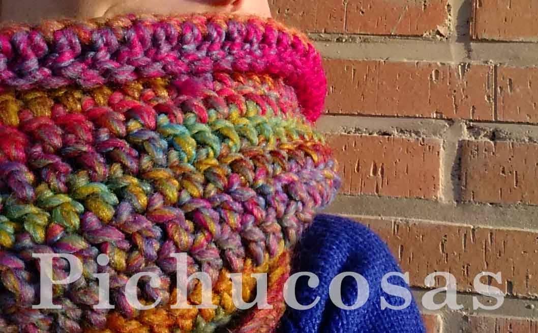 Pichucosas: Cuello fácil de ganchillo y patrón gratis