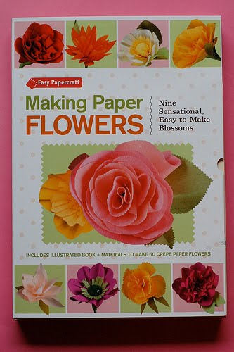 Paper flower books ukrandiffusion chroma lab making paper flowers by laurie cinotto mightylinksfo