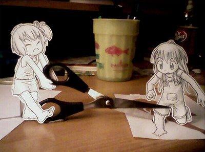 Figuras Anime en papel. 251467_10150262339049819_213182229818_7273962_1542381_n