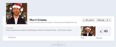 Sergio Ramos, página de fans de Morri Crismas
