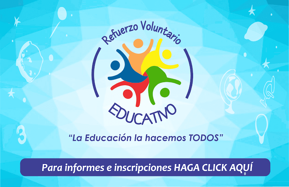 REFUERZO VOLUNTARIO EDUCATIVO 2018