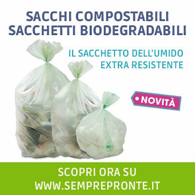 semprepronte: i sacchetti biodegradabili