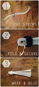 DIY Tassel Key Chain // The Twisted Horn