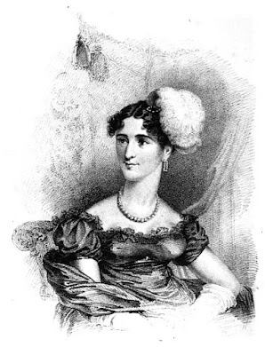 Augusta, Duchess of Cambridge from La Belle Assemblée (1818)