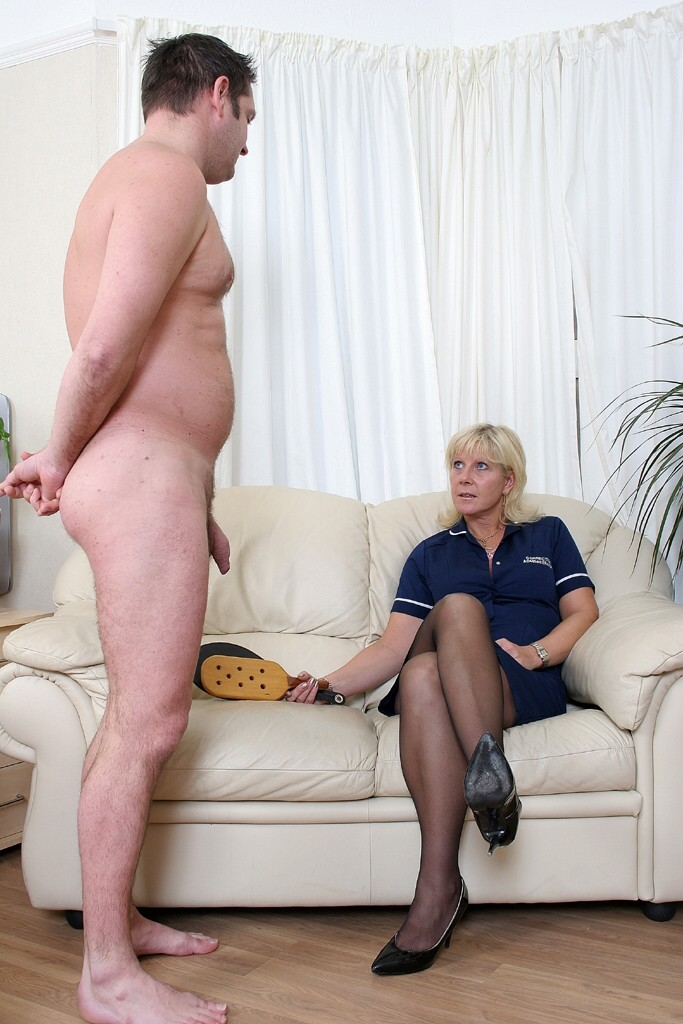 What Old women spanking younger men