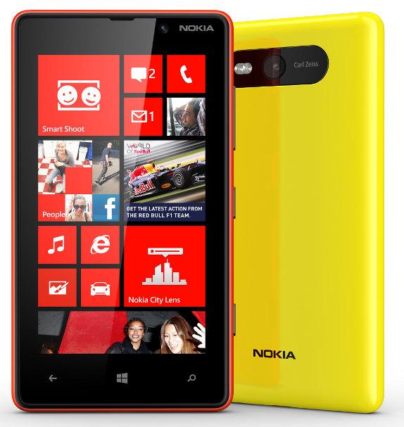 Harga dan Spesifikasi Nokia Lumia 820 - Smartphone Windows 8 Dual Core