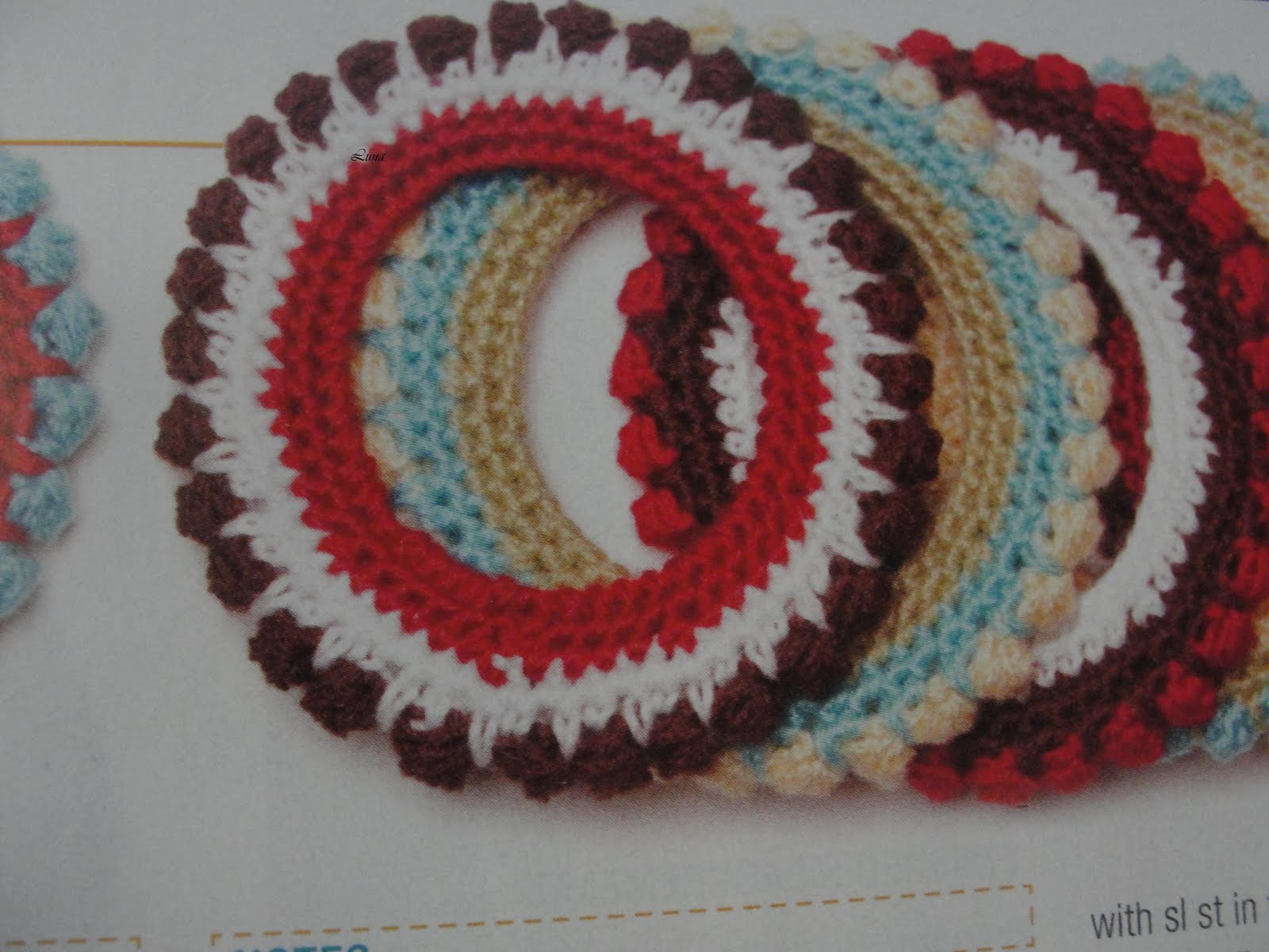 My crochet mis tejidos diademas o vinchas tejidas a - Diademas a crochet ...