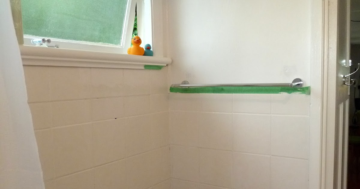 Fun And Vjs First Coat Of White Tile Paint