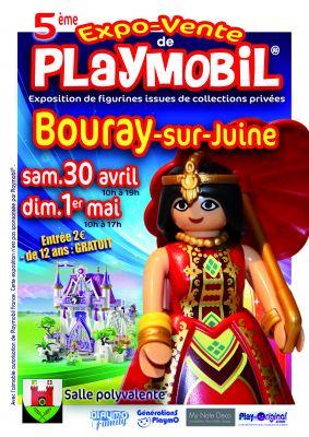 5ème Expo-Vente Bouray sur Juine, 30 avril-1er mai 2016
