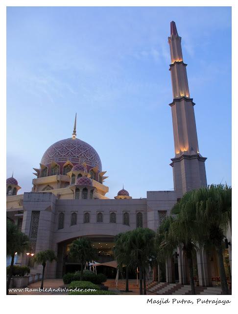 Masjid Putra Mosque, Putrajaya, Malaysia