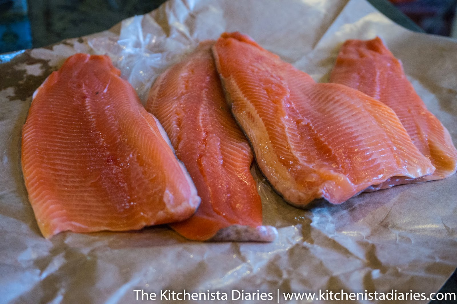 I'd Describe The Taste Of The Steelhead Trout As Clean And Slightly Sweet,  With A Texture That Was Moist And Flaky It Reminded Me Of Salmon But Was  Much