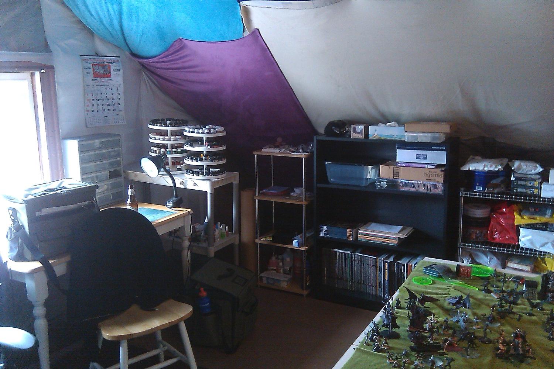 Man Cave Storage Wars Facebook : Attic wars a k project man cave the big ol