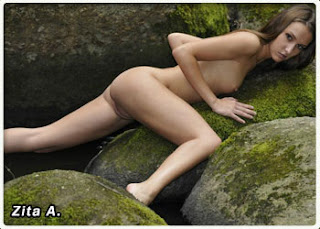 Nudista gostosa praia