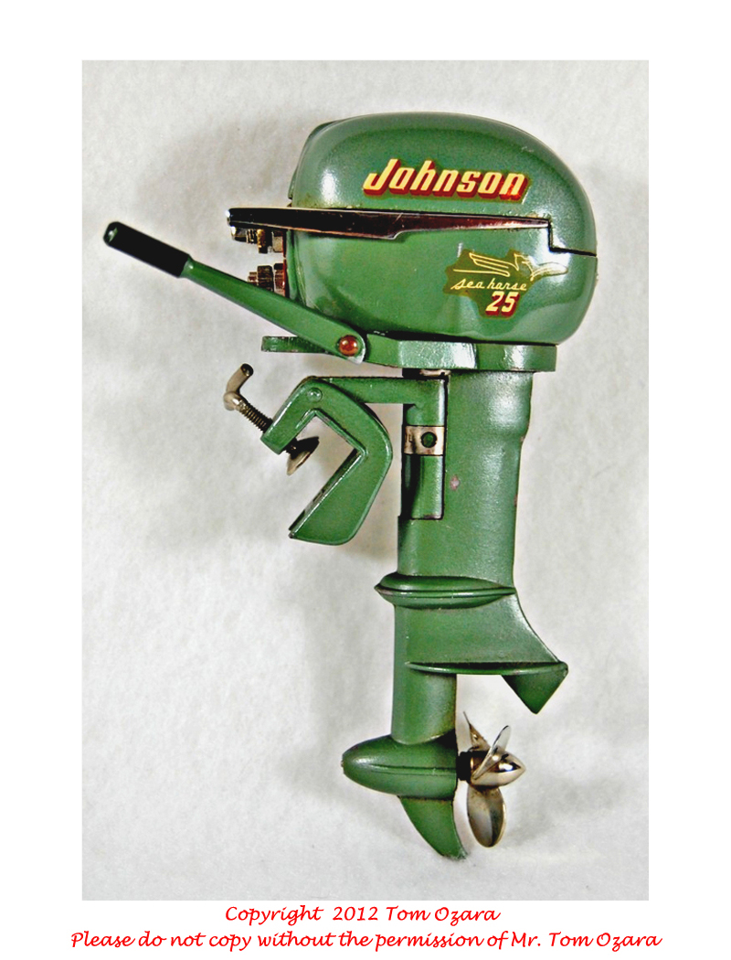K O Toy Outboard Motors Old johnson outboard motors pictures