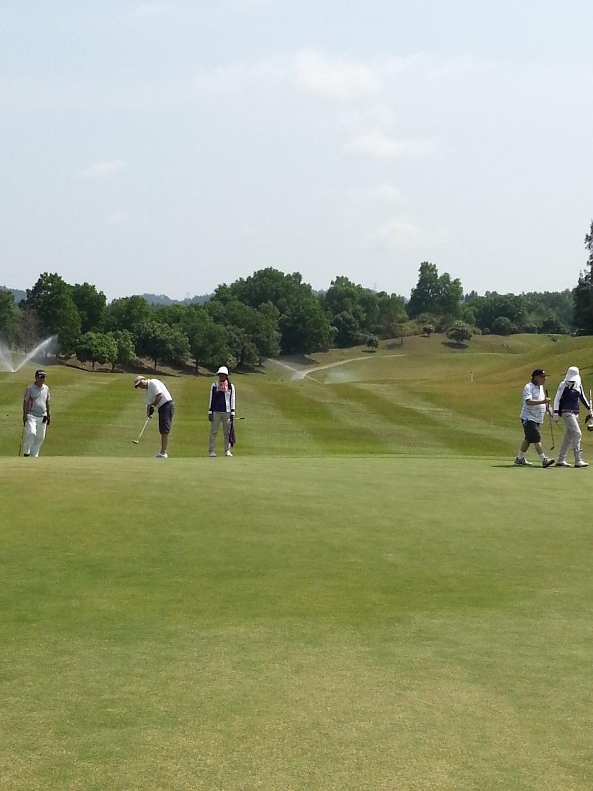Fair dinkum golf