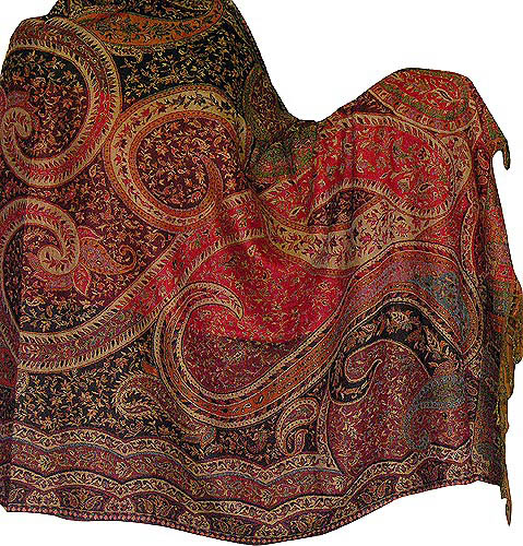 Indian Kashmir Shawl