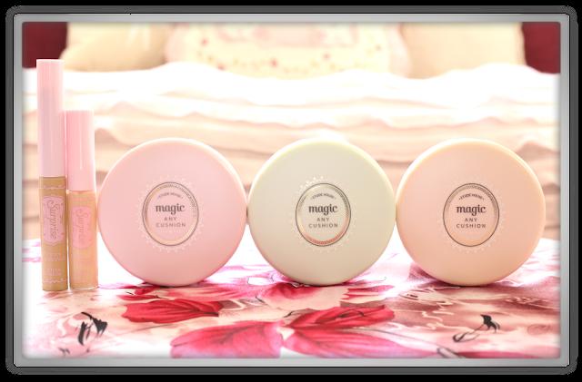 Jolse haul review Etude House  Precious Mineral Magic Any Cushion pink peach mint Surprise Stick essence Concealer 01