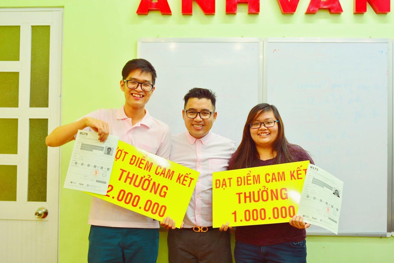 IELTS 6.5 sau 40 ngày vượt cam kết thưởng 2,000,000