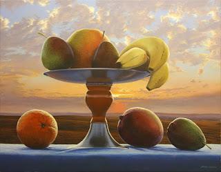 Cuadros Frutas Paisajes Naturales Nubes