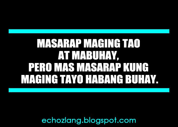 masarap mabuhay quotes
